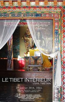 Affiche Le Tibet intérieur